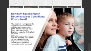 2019 MDA Engage Newborn Screening Webinar