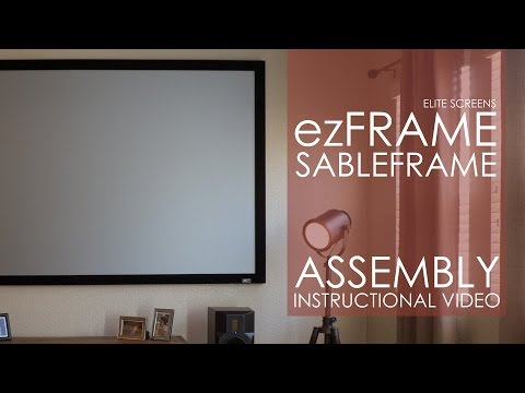 """Elite Screens cadre de sable (Bordure fixe, 92"""", 16:9)"""