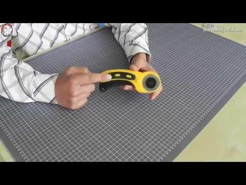 Hajo-Fix - Produktvorstellung Rollenschneider (Rollschneider)