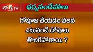 Types Of Dosha Removed By Doing Cow Pooja - Dharma Sandehalu