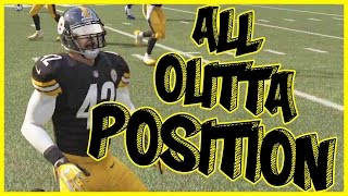 ALL OUT OF POSITION LINEUP!!  - Madden 16 Ultimate Team | MUT 16 XB1 Gameplay