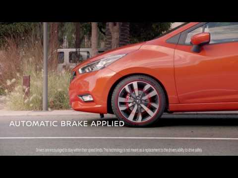 The All-New Nissan Micra: Intelligent Emergency Braking