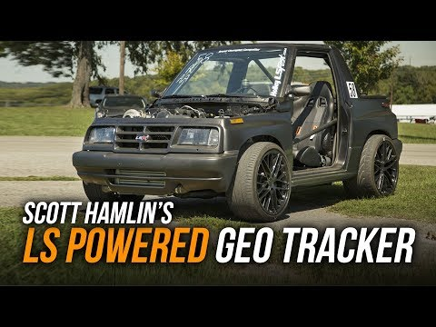 Scott Hamlin's LS Powered 1996 Geo Tracker