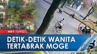 Detik-detik Moge Kawasaki Tabrak Motor di Bintaro Terekam CCTV, Seorang Ibu Muda Tewas di Tempat