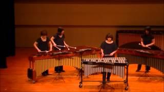 """「もののけ姫」より‐percussion Ensemblegroup""""comodo"""""""