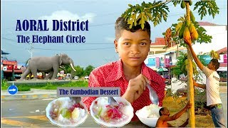 Aoral District in Kampong Speu Province Tours | Eating Foods and Visit Traditional Charcoal Kilns