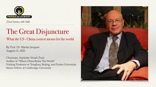 Video : China : The China / West schism, with Martin Jacques