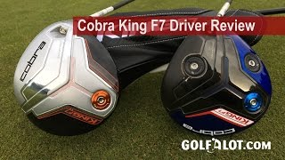 Cobra King F7 Driver Review By Golfalot