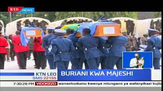 Askari 14 wa kikosi cha kulinda amani Tanzania waliouwawa Congo waagwa