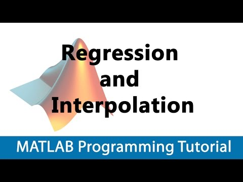 MATLAB Programming Tutorial #28 Intro to Regression and Interpolation
