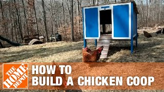 How To Build A Chicken Coop Part 1 | The Home Depot