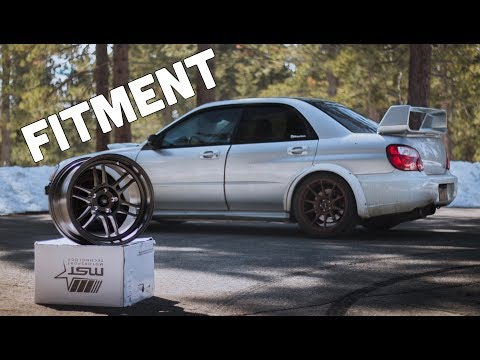 Subaru STI Gets NEW WHEELS!! (Unboxing)