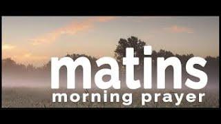 Matins Service May 6, 2020