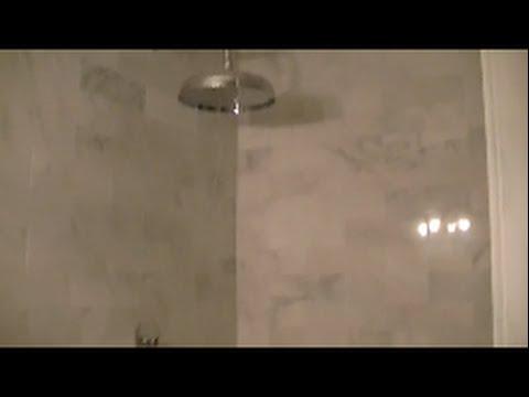 Carrara Marble Shower Build