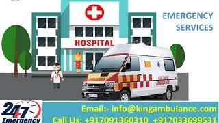 Best Patient Transfer King Ambulance Service in Delhi and Ranchi