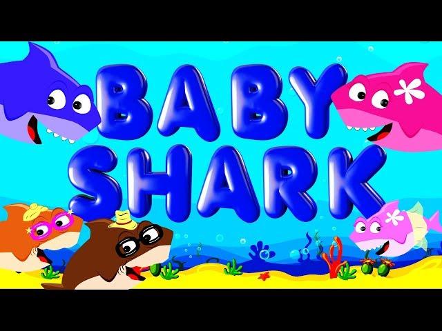 Baby Shark | Doo Doo Doo Doo | Nursery Rhyme Sing Along for Kids | Brain Breaks | Jack Hartmann