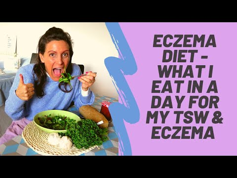 ECZEMA DIET - WHAT I EAT IN A DAY TO HEAL MY SKIN #TSWDIET #ECZEMADIETCURE #LOWHISTAMINEDIET