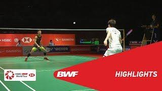 PERODUA Malaysia Masters 2019 | MS - F - HIGHLIGHTS | BWF 2019