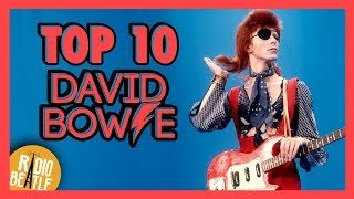 TOP 10 Canciones de DAVID BOWIE | Radio-Beatle