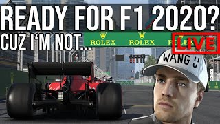 F1 2019 - Getting Ready For F1 2020 With Career Mode