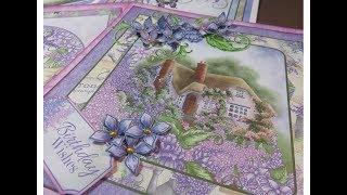Card Share Heartfelt Creations Lush Lilac