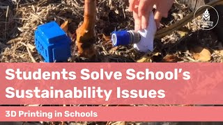 How West Lakes Shore School Students Solved Sustainability Issues at School with 3D Printing