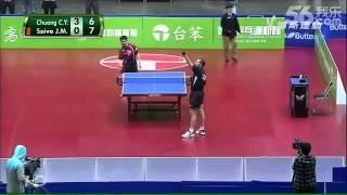 Смотреть онлайн Один забавный матч в настольный теннис