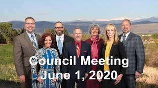 Preview image of City Council Meeting - June 1, 2020