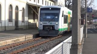 preview picture of video 'BR 650 (VT 50+VT51; VBG) nach Plauen/Gera - Weischlitz'