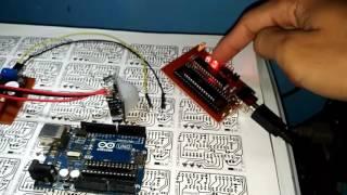 AVR Programming -3 -Burning Hex file onto AVR chip - YouTube