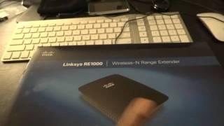 Linksys RE1000 Wireless-N Range Extender Review