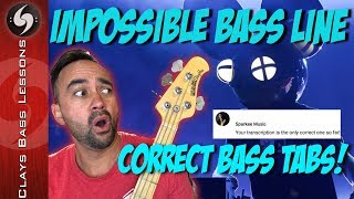 IMPOSSIBLE BASS LINE   Sparkee Approved 100% ACCURATE TABS