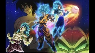 Broly The New Villain Revealed!!! Dragon Ball Super 2018 Movie!!!