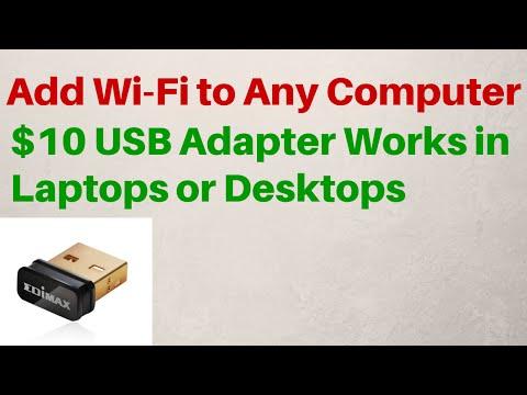 $10 USB WiFi Adapter – N Wireless – 802.11n – Review