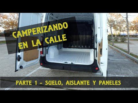 Camperización de furgoneta en la calle. Parte 1. Suelo, aislante y panelado