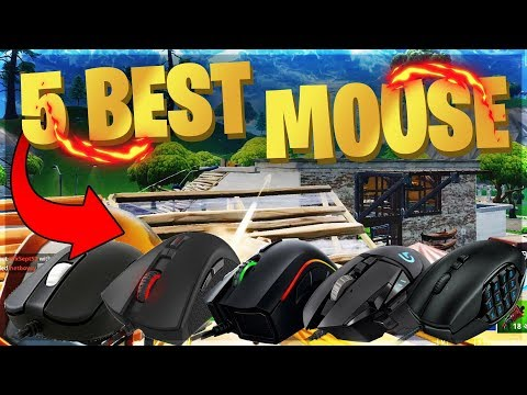 THE 5 BEST MOUSE FOR FORTNITE! TO HELP YOU BUILD LIKE A PRO PLAYER