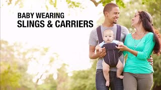 Wearing Baby, Slings And Carriers.
