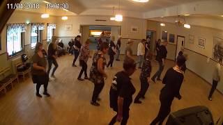 Kursavslutning VT -18 / Söderhamns linedancers/ I got a woman