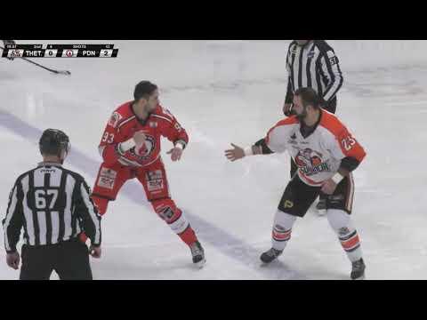 Patrick Bordeleau vs. Thomas Bellemare