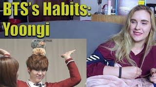 BTS's Habits: Yoongi (Suga)