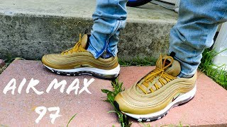 newest 96f42 9aec2 air max 97 gold - Free video search site - Findclip.Net