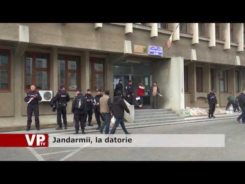 Jandarmii, la datorie