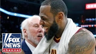 Reporter slammed for asking LeBron James Popovich question