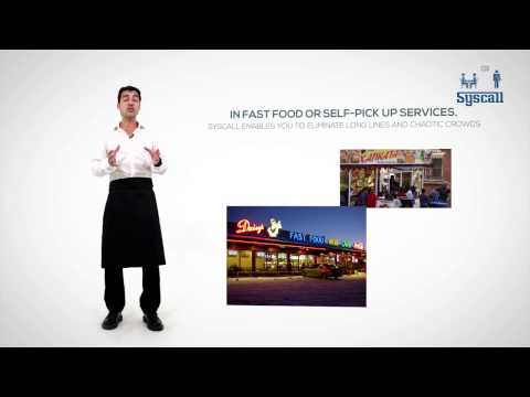Syscall system for restaurants