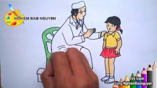 Vẽ bác sĩ/How to Draw Doctor