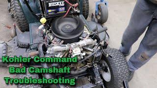 Kohler Command Bad Camshaft Troubleshooting