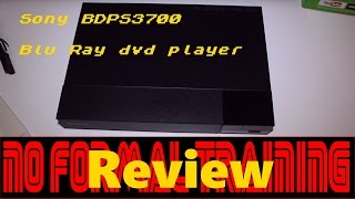 Sony BDPS1500 blu ray dvd player review