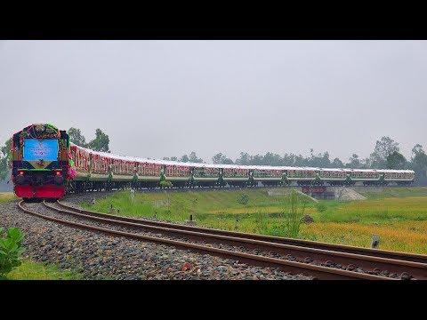 Inaugural Run / First Run of Semi Non-stop Panchagarh Express Train || Panchagarh to Dhaka
