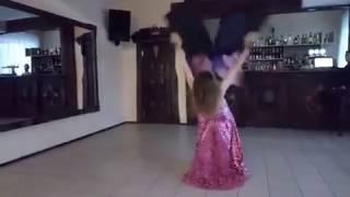 Восточные танцы. г. Покровск. Анна Зимогляд. выступление на праздниках