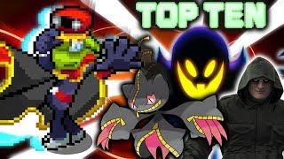 Top Ten Ghosts in Video Games